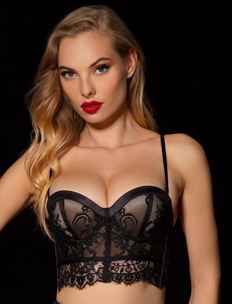 Maria Lace Push Up Bra - Shop Bra | Honey Birdette UK