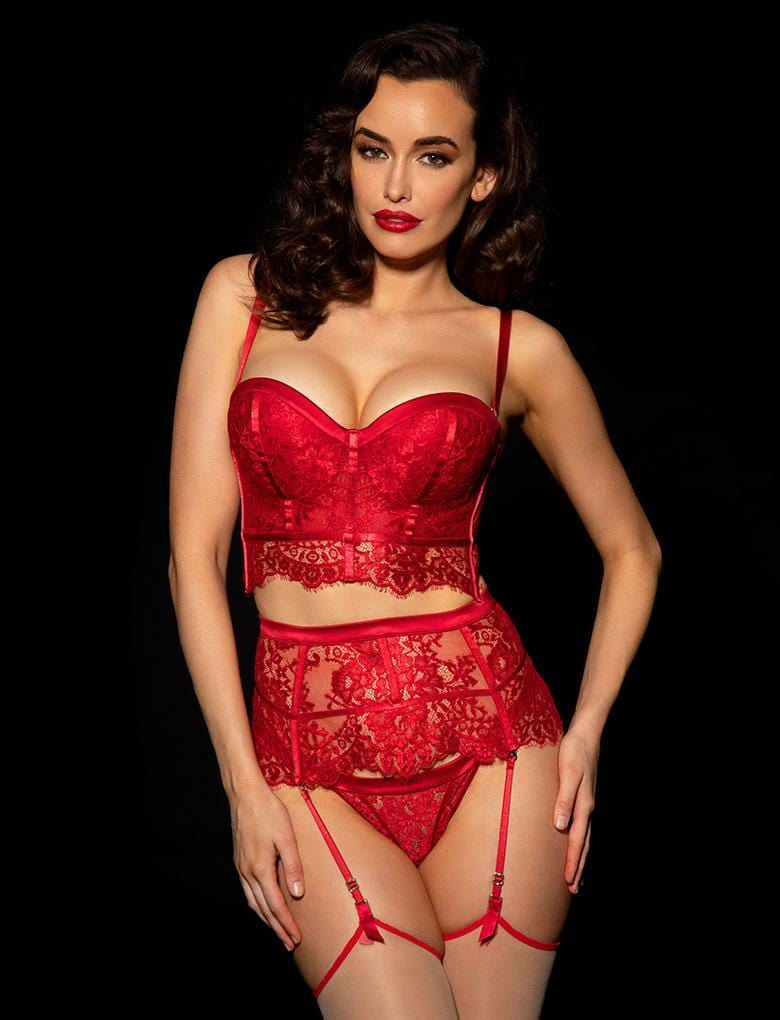 Maria Red 3 Piece Set