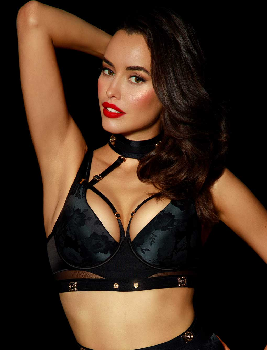 Martika Black Push Up Bra | Shop Bras | Honey Birdette