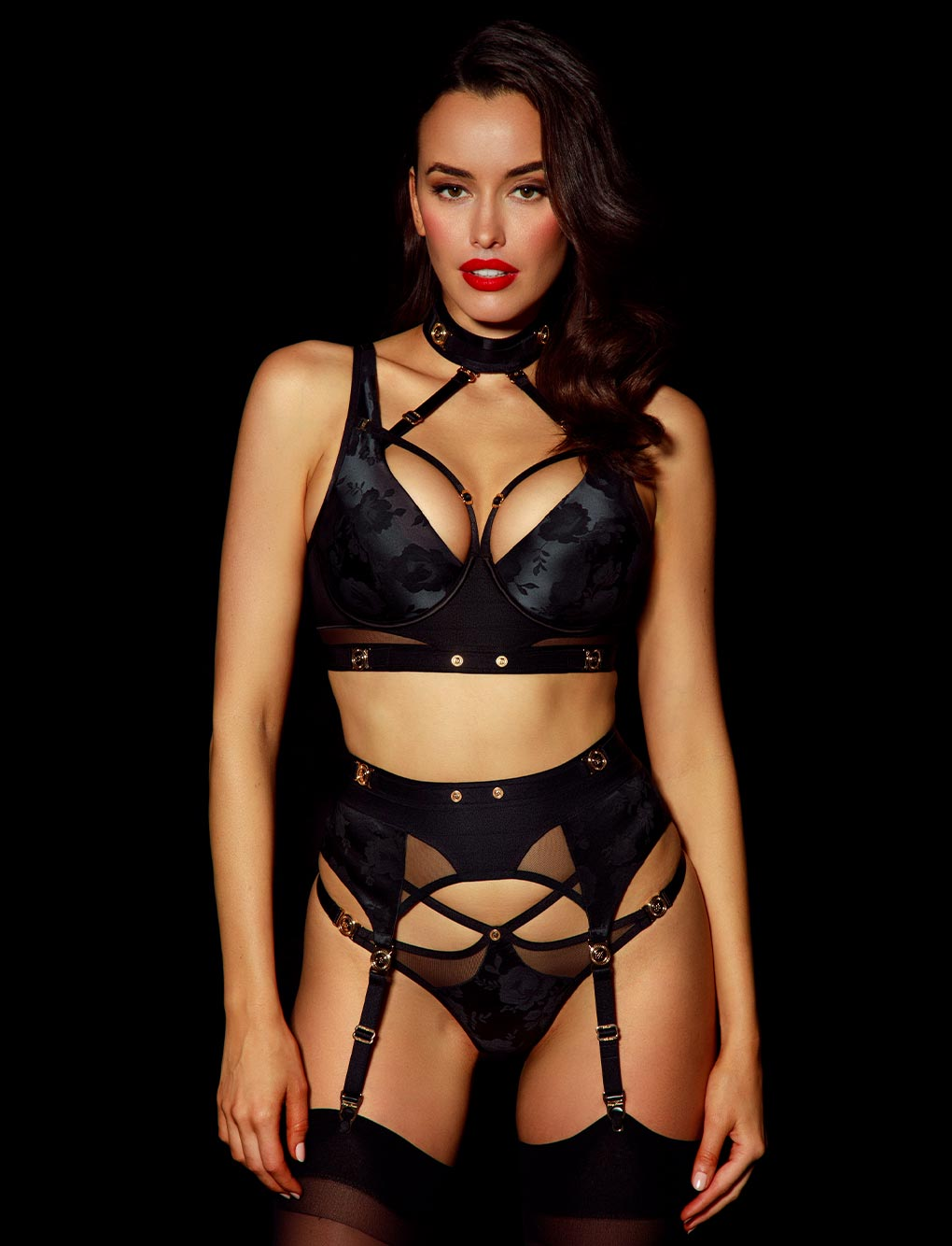 Martika Suspender | Shop Suspenders | Honey Birdette