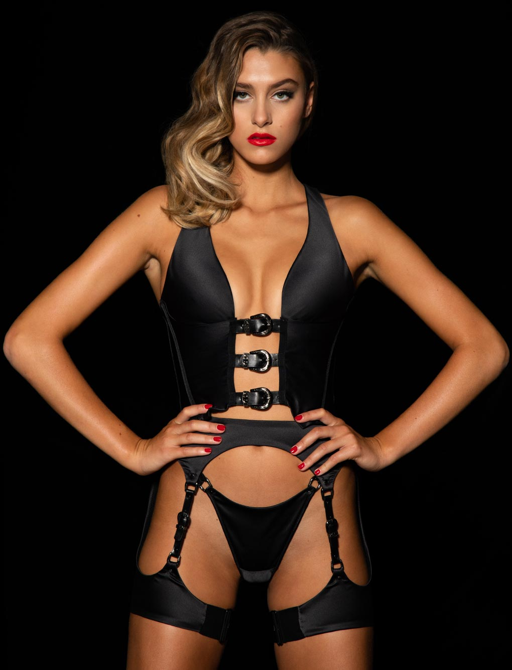 Max Gilet Suspender Set