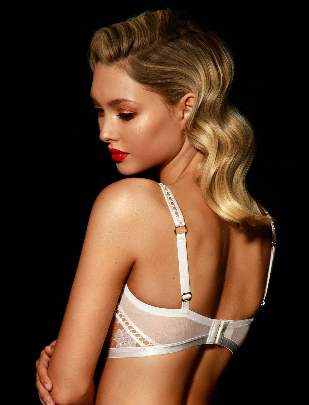 Molly Lace White Ivory Bridal Lingerie Set | Shop  Lingerie Honey Birdette
