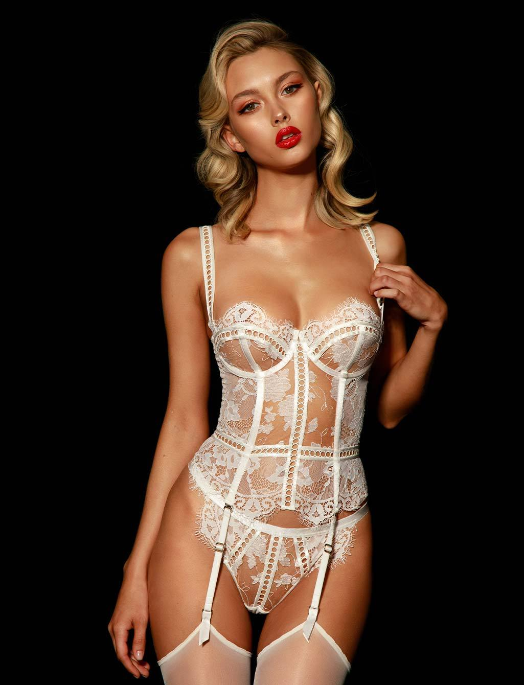 Molly Bustier & Bottom Set