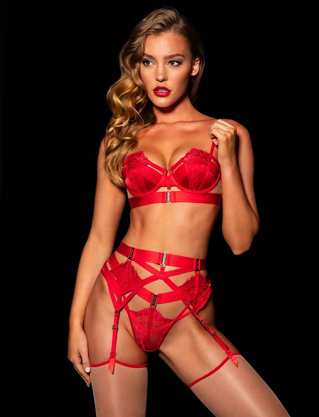Morgan 3 Piece Bra Set