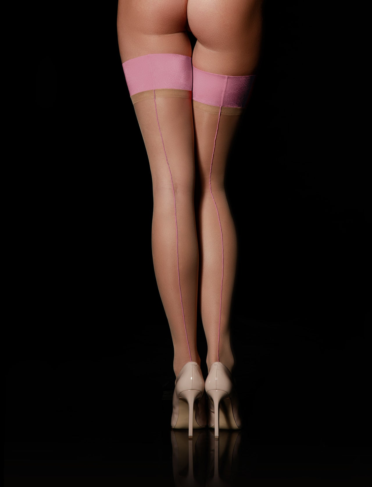 Blush Sheers Stay Up Stockings