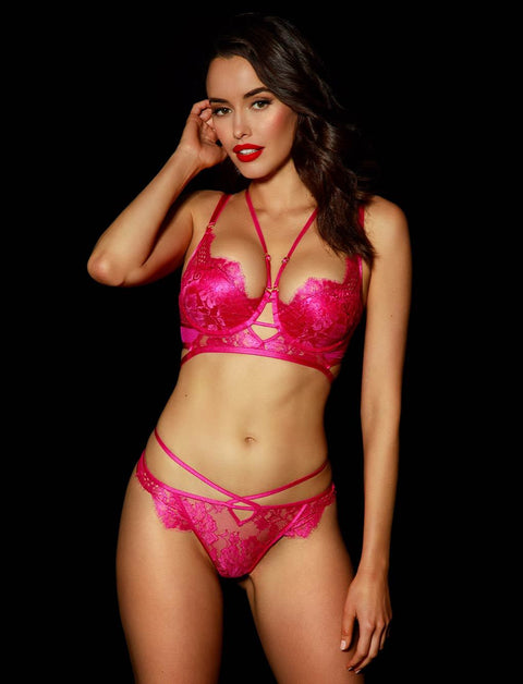 Vanessa Pink Thong | Shop Thongs & G Strings | Honey Birdette