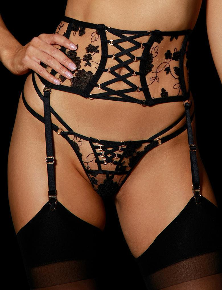Alice Garter Belt - Shop Lingerie | Honey Birdette