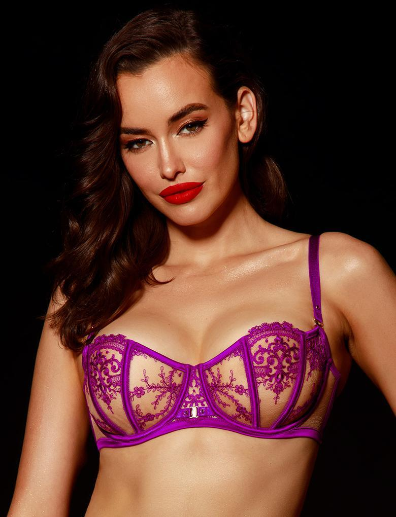 Gabrielle Orchid Bra - Shop Bra | Honey Birdette UK