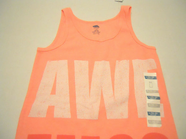 Old Navy Tank Top Sleeveless Shirt  Awesome Print