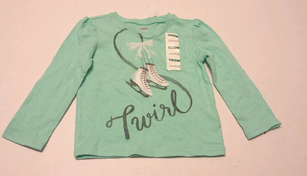 Old Navy Tee Shirt Size 18-24 Months Baby Girls Kids