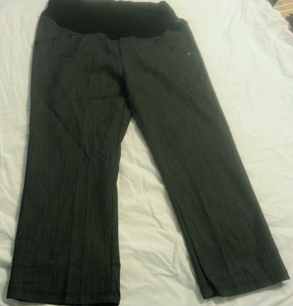 Women Maternity Capri Pants Size M