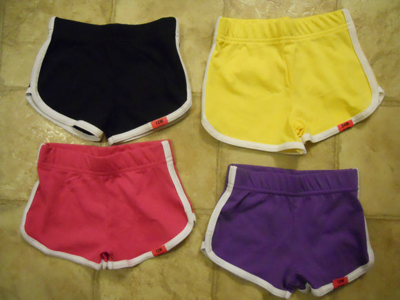 Girl Dolphin Shorts Baby & Toddlers Size