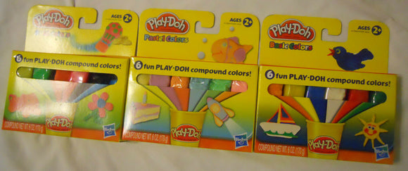 NEW Fun Playdoh Modeling Compound Ages 2+ Play Dough Clay Toy Art Crafts Molds