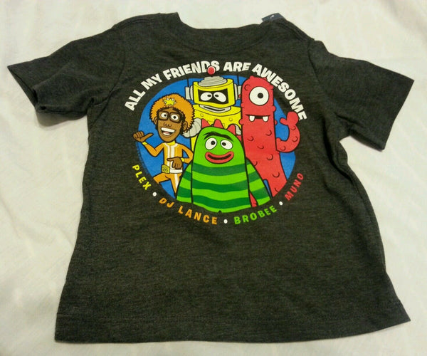 Toddler Boys Tee Shirt 3T Old Navy Baby Collectabilitees Gray Short Sleeve