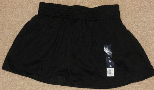 Girls Skirt Scooter Skort Black Sz 4-5 (XS),6-6X(S)7-8(M),10-12(L),14-16(XL)