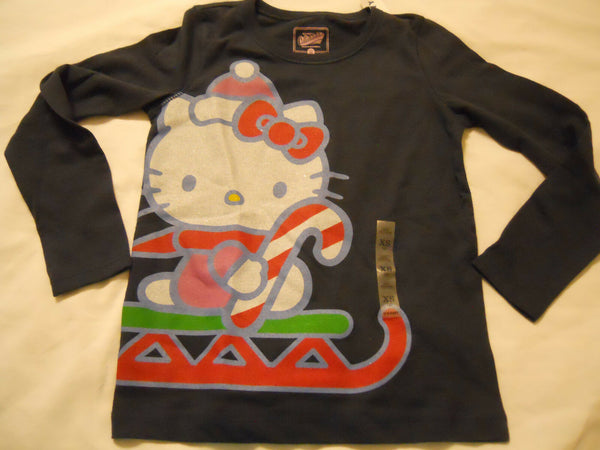 Old Navy Tee Shirt XS 5 Hello Kitty Blue