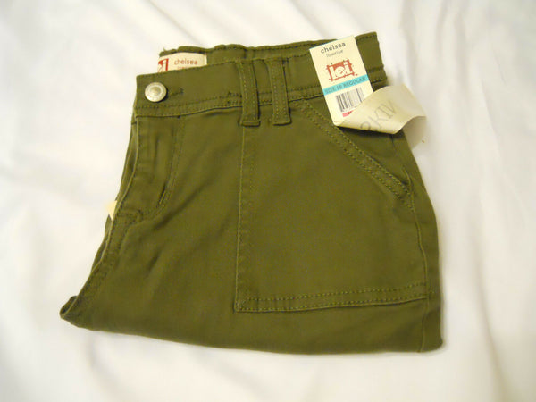 l.e.i. Girls Skinny Pants Sz 16 Reg Chelsea Lowrise Adjustable Waistband Kids