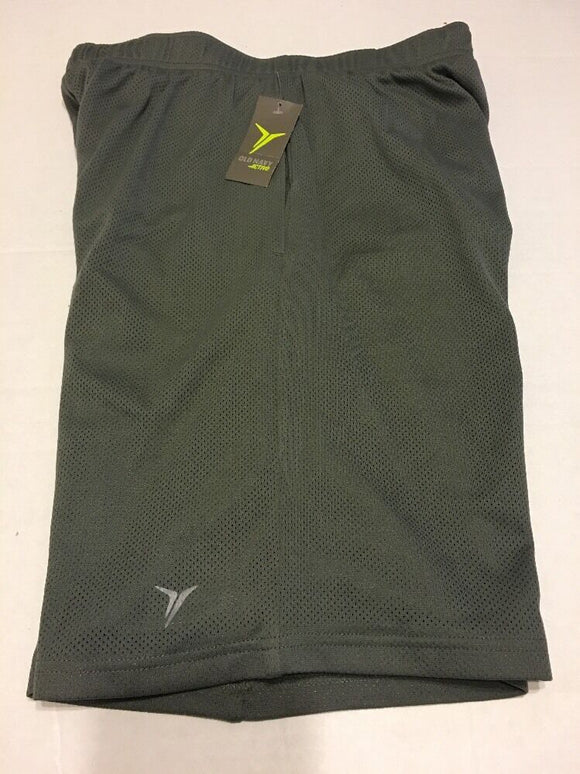 Old Navy Active Men Athletic Shorts Sz L Gray