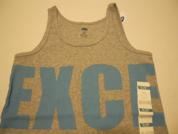 Girls Tank Top Shirt XL 14 Old Navy Excellent Print
