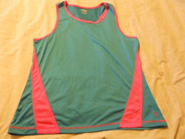Danskin Now Girls Shirts Poly Tank Top Active Sports Kids Children