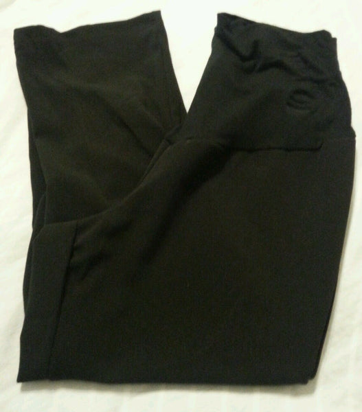 Maternity Capri Pants Medium Women Sophia Jayne