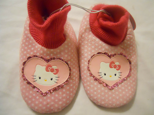 Hello Kitty Girls Slippers Toddlers Kids Pink Children's