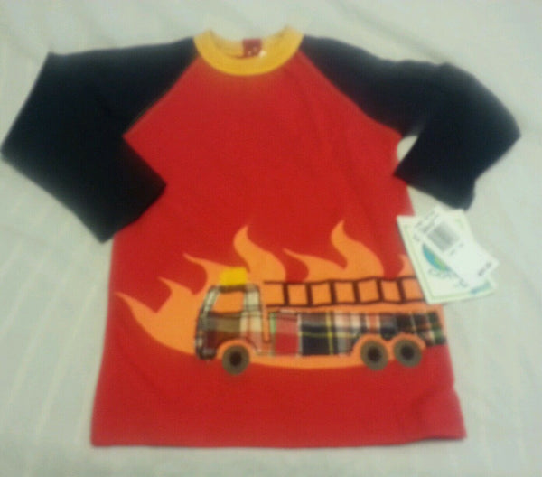 Boys Tee Shirt 12 Months Baby Red Children Toddlers Planet Cotton Long Sleeve