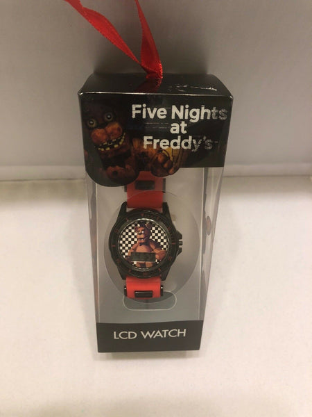 Boys Wristwatch LCD Black Red Kids