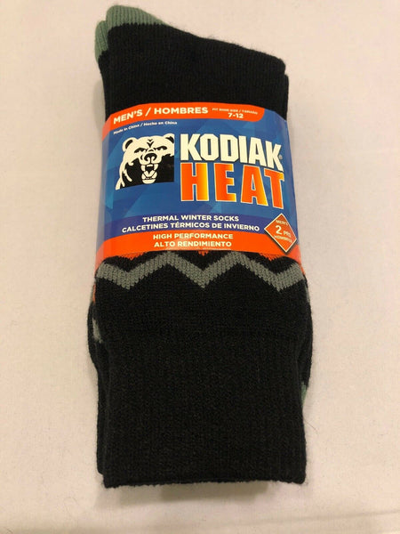 Thermal Winter Socks Shoe Size 7-12 Men 2-Pair