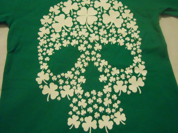 Boys St Patrick's Day Tee Shirt Green St Patty's Day Kids New
