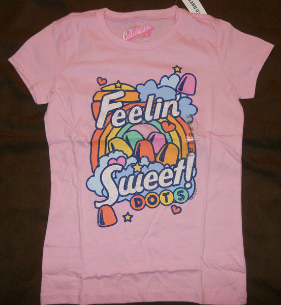Old Navy Girls Tee Shirt Pink Feelin Sweet Dots Collectabilitees Glitter