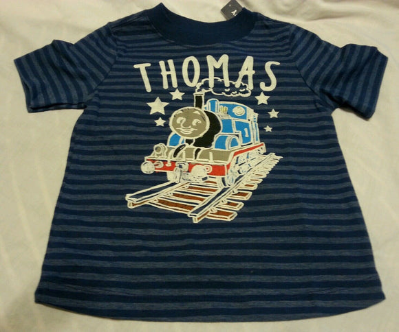Boys Tee Shirt 18-24 Months Baby Collectabilitees Thomas The Train Short Sleeve