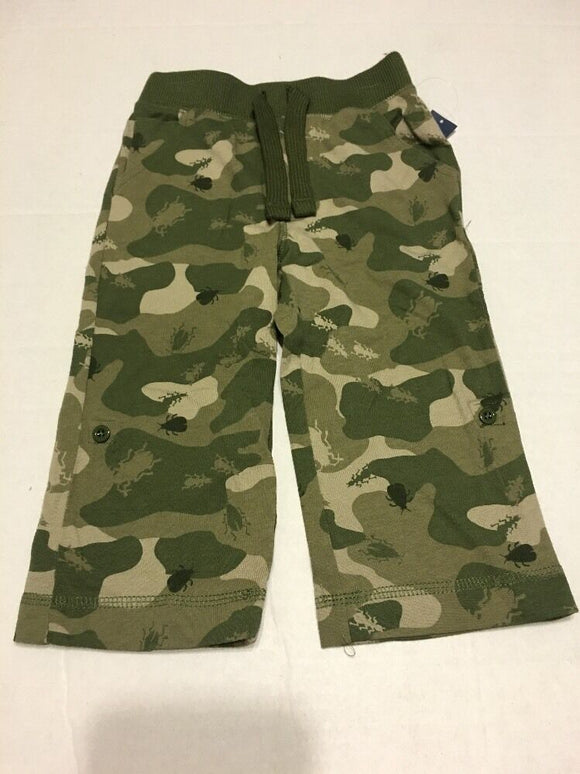 Old Navy Pants Boy Size 4T Camo Green