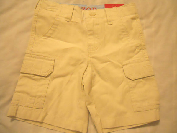 Izod Boys Shorts Size 4 Cargo Khaki Adjustable Waistband
