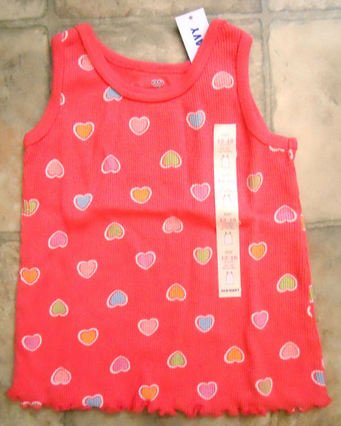 Baby Girls Old Navy Shirt Tank Top  Sleeveless Ruffle