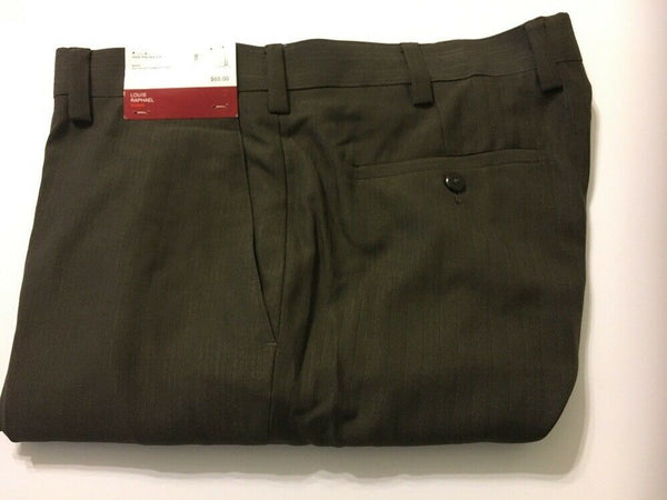 Men Louis Raphael Dress Pants Modern Fit