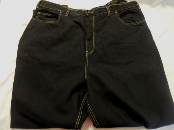 Big Men Jeans Black Pants Size 40 x 32