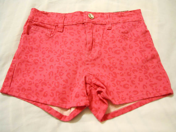 Almost Famous Girls Shorts Size 10 Pink Stretch Waistband Kids
