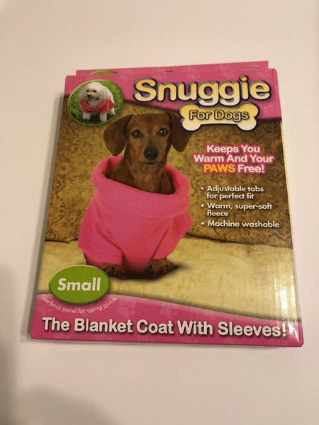 Snuggie For Dogs Clothes Small Coat Blanket Female Warm Fleece