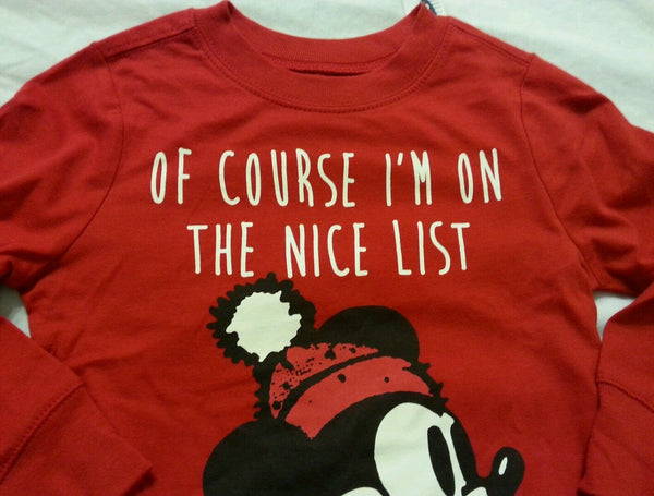 Toddler Tee Shirt 4T Red Baby Kids