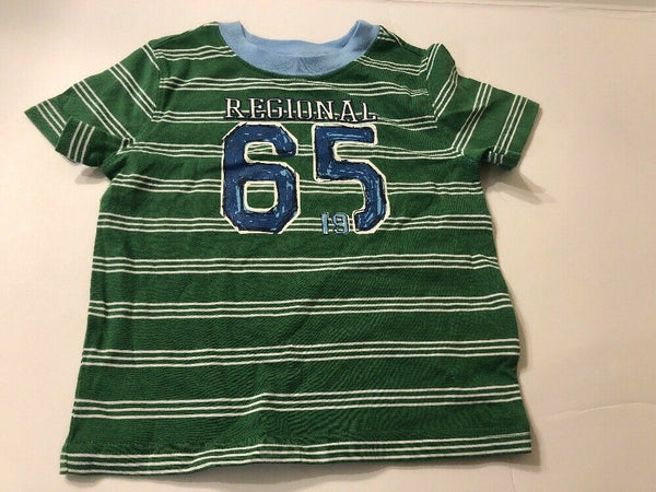 Baby Boys Tee Shirt Green Print