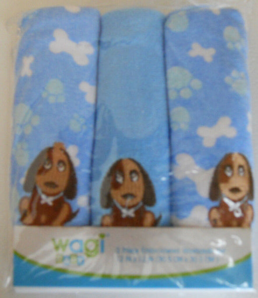 Wagi Baby Embroidered Washcloth Set Towels  Set Baby Toddler Kids NEW