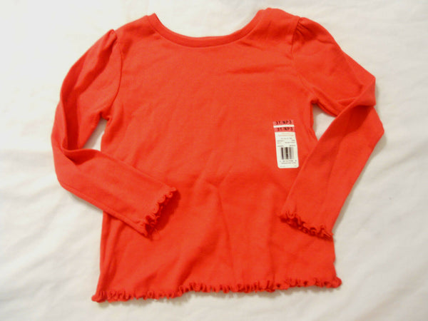 Garanimals Girls Shirt Top Baby Toddler Kids Crew Long Sleeve
