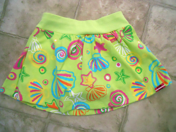 Skort Printed Skirt Scooter Baby Toddlers