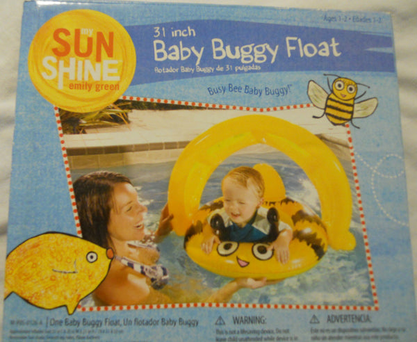 Baby Buggy Float Swimming Pool Water Sports 31 in.