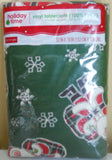 Christmas Tablecloths Snowflakes Santa Tree Holiday Kitchen Red White Green Blue