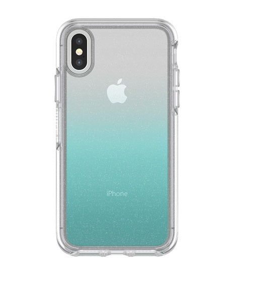 OtterBox Symmetry Series Clear Graphics Case for iPhone X, Aloha Ombre