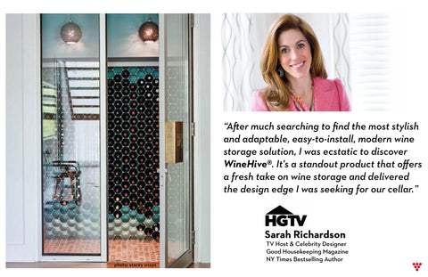 WineHive for HGTV's Sarah Richardson