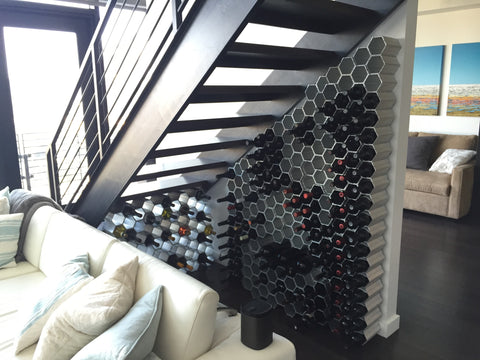 WineHive Custom Modern Design Wine Cellar