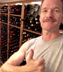 Neil Patrick Harris WineHive Wine Cellar Hive